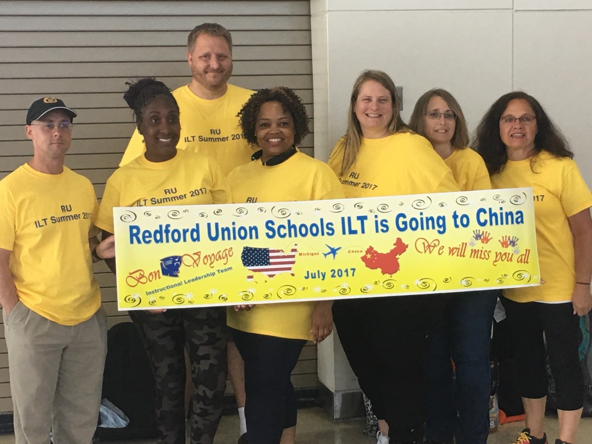 Teachers travel to China to enhance their teaching and learning.